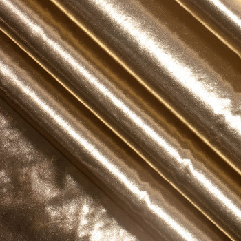 Gold Tissue Lame Fabric