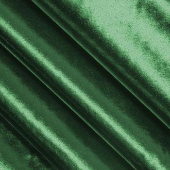 Hunter Green Tissue Lame Fabric