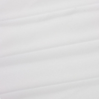 White Polyester Poplin Fabric
