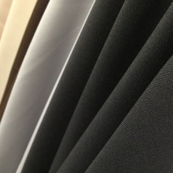 Polyester Poplin Fabric | Close-Up to Show Texture