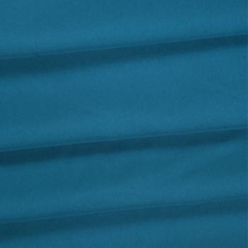 Turquoise Polyester Poplin Fabric