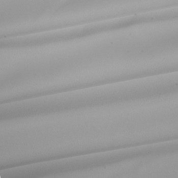 Gray Polyester Poplin Fabric