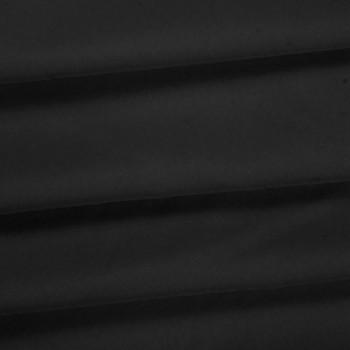 Charcoal Polyester Poplin Fabric