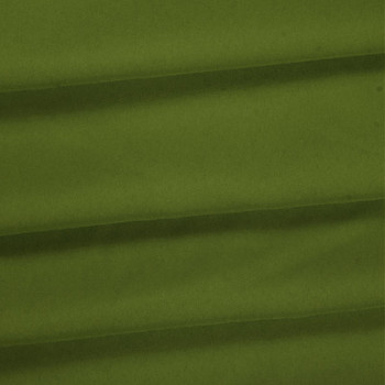 Avocado Green Polyester Poplin Fabric