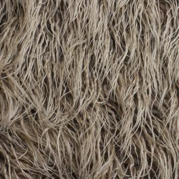 Cappucino Curly Llama Faux Fur Fabric