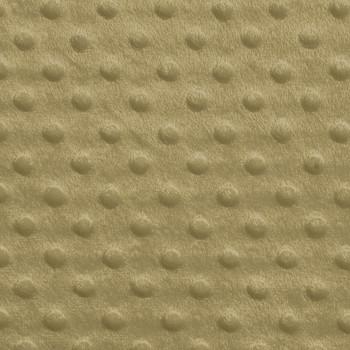Tan Minky Dot Fabric