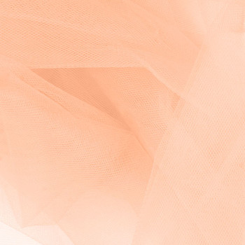 """Apricot 54"""" Tulle"""