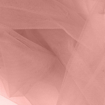 """Rose 54"""" Tulle"""