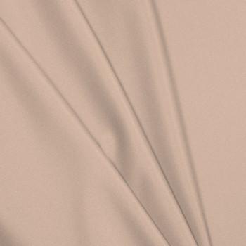 Peach Polyester Interlock Fabric
