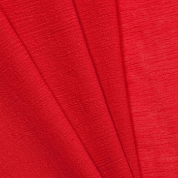 Red Cotton Gauze Fabric