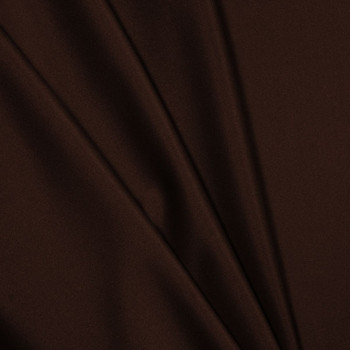 Brown Polyester Interlock Fabric