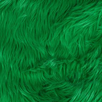 Kelly Green Shag Faux Fur