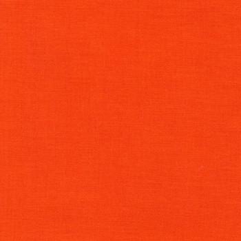 Tangerine Kona Cotton by Robert Kaufman