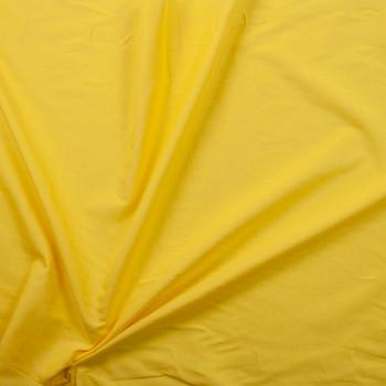 Sunshine Yellow Cotton Lawn Fabric By The Yard - Wide shot