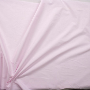 Light Pink Cotton Lawn Fabric By The Yard - Wide shot