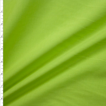Lime Green Cotton Lawn Fabric By The Yard