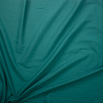 Teal Cotton Lawn Fabric By The Yard - Wide shot