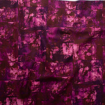 Warehouse District Berry Cotton/Linen Blend by Robert Kaufman  Fabric By The Yard - Wide shot