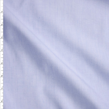 Light Blue and White Fine Stripe Cotton Shirting from 'Brooks Brothers' Fabric By The Yard