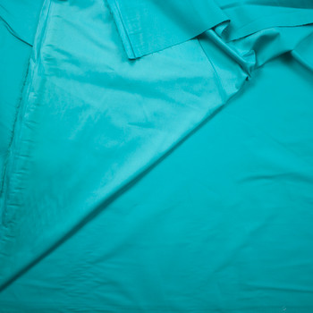Jade Designer Stretch Cotton Sateen Fabric By The Yard - Wide shot