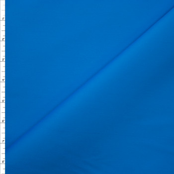 Turquoise Designer Stretch Cotton Sateen Fabric By The Yard