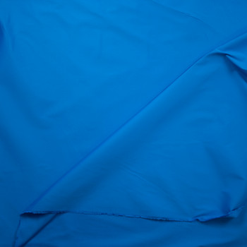Turquoise Designer Stretch Cotton Sateen Fabric By The Yard - Wide shot