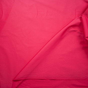Hot Pink Designer Stretch Cotton Sateen Fabric By The Yard - Wide shot