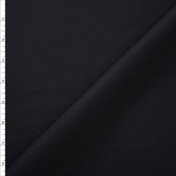 Black Heavy Midweight Cotton Ripstop Fabric By The Yard
