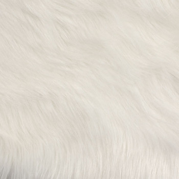 White Artcic Fox Faux Fur