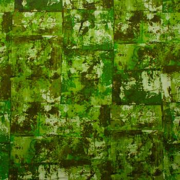 Warehouse District Green by Robert Kaufman Cotton/Linen Blend Fabric By The Yard - Wide shot