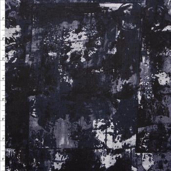 Warehouse District Black by Robert Kaufman Cotton/Linen Blend Fabric By The Yard