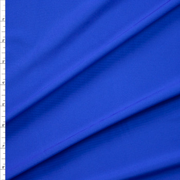 Royal Blue Stretch Light Midweight Athletic Knit Fabric By The Yard