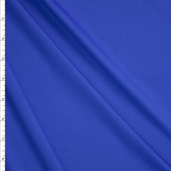 Royal Blue Stretch Midweight Athletic Knit Fabric By The Yard