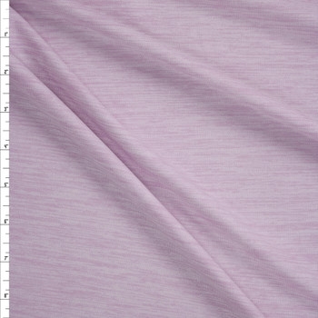 Lilac Space Dye Moisture Wicking Athletic Knit Fabric By The Yard