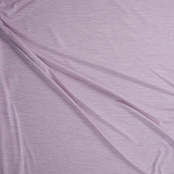 Lilac Space Dye Moisture Wicking Athletic Knit Fabric By The Yard - Wide shot