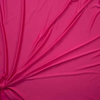 Hot Pink Moisture Wicking Athletic Knit Fabric By The Yard - Wide shot