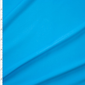 Candy Blue Moisture Wicking Athletic Knit Fabric By The Yard