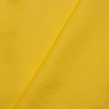 Yellow Stretch Cotton Broadcloth Fabric