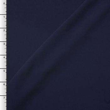 Navy Blue Rayon Challis