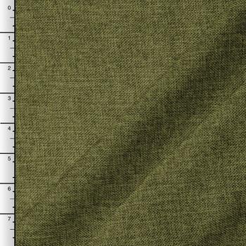 Olive Green Vintage Linen Look