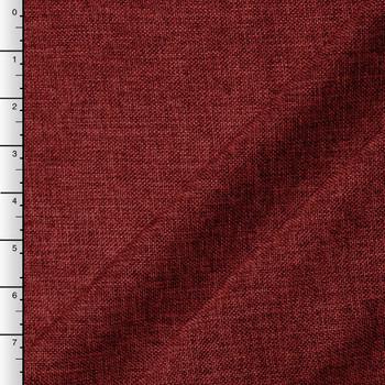 Burgundy Vintage Linen Look