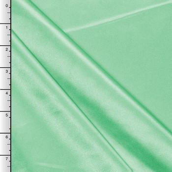 Mint Green Midweight Bridal Satin