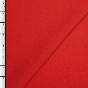 Red Maxima Poplin by Robert Kaufman