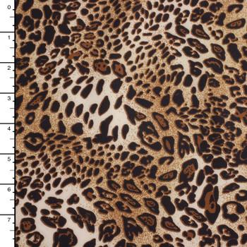 Leopard Print Techno Knit