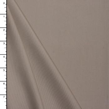 Light Tan Cotton/Tencel Fine Midweight Twill