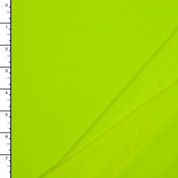 Neon Yellow 5.8oz Nylon/Lycra