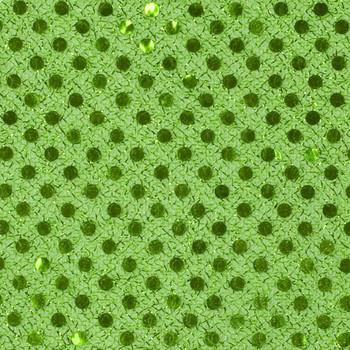 Lime Green Mini Sequin Fabric