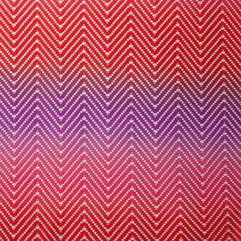 Red, Pink, and Purple Ombre Chevron Midweight Lace