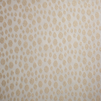 Gold Sparkling Dotted Lace