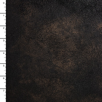 Mottled Brown Soft Fashion Leather Look